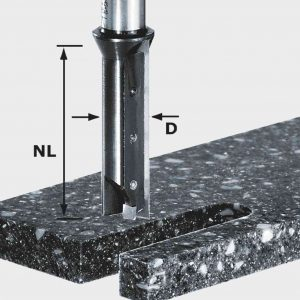Freza cu coada pentru prelucrarea materialelor minerale